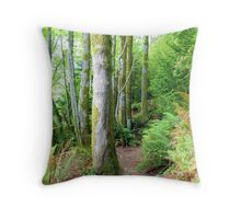 Washington State Park Throw Pillow