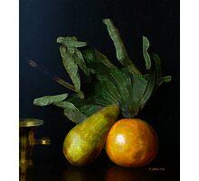 Pear & Grapefruit Photographic Print