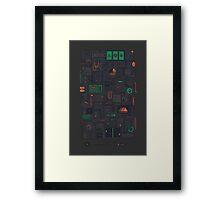 AFK Framed Print