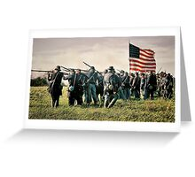 On the Field of Battle Greeting Card