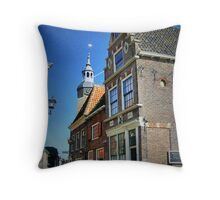 Traditional Dutch House Throw Pillow