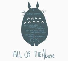 Fandom Totoro by wantanPillow