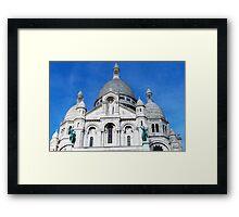 Sacre Coeur Framed Print