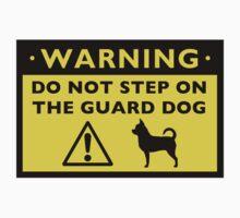 Humorous Chihuahua Guard Dog Warning by Jenn Inashvili