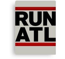 RUN ATL - Atlanta NBA Canvas Print
