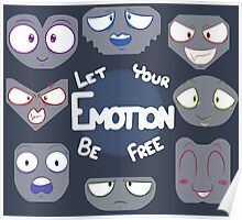 Let Your Emotion Free Poster