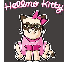 Hellno Kitty Photographic Print