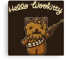 Hello Wookitty Canvas Print