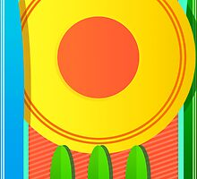 Summer Abstract One by Mike Cressy