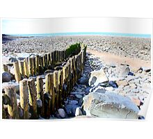 Lynmouth Beach II Poster