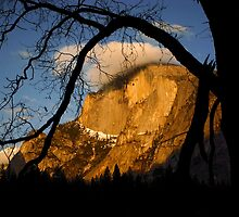 Half Dome Alpine Glow by Mark Ramstead