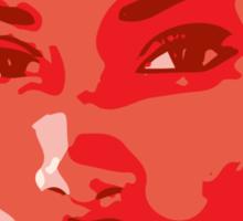 Royal Red Sticker