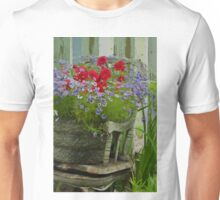 The Old And New - Digital Oil Unisex T-Shirt