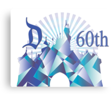 Diamond Disney Metal Print