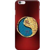Scorpio & Rooster Yin Fire iPhone Case/Skin