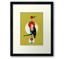 Perched Eagle  Framed Print