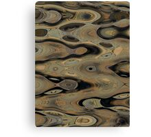 Pavement Abstraction Canvas Print