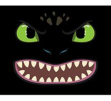 Toothless Face Photographic Print