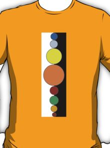 Planets All in a Row T-Shirt