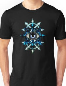 EVIL EYE WITH CHAOS STAR Unisex T-Shirt