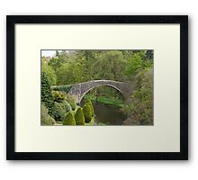 Brig O' Doon, Alloway. Framed Print