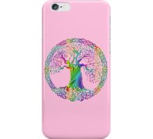 TREE OF LIFE - bright colors iPhone Case/Skin