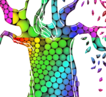 TREE OF LIFE - bright colors Sticker