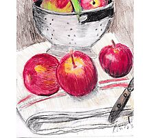 Apples To Apples Photographic Print