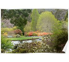 Spring in the Gardens Poster
