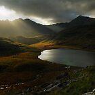 Sunrays, Snowdonia National Park by Thomas Peter