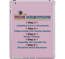 True Directions (But I'm a Cheerleader) iPad Case/Skin