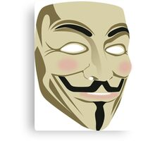 Anonymous Mask Canvas Print