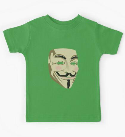 Anonymous Mask Kids Tee