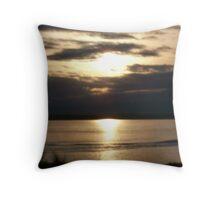 Sunset Blurr Throw Pillow