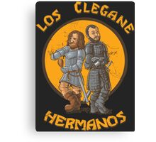 Los Clegane Hermanos Canvas Print