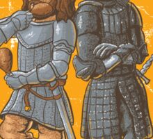 Los Clegane Hermanos Sticker
