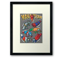 Mana-Team Framed Print
