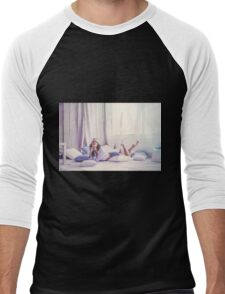 fine art portrait Men's Baseball ¾ T-Shirt