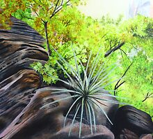 Zions Canyon # 4 by Maria Hathaway Spencer