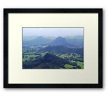 Upper Lansdowne from Flat Rock Framed Print