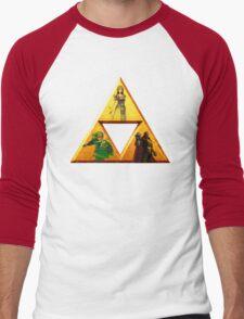 Triforce - The Legend Of Zelda Men's Baseball ¾ T-Shirt