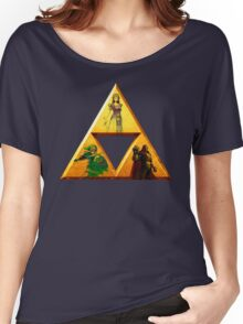 Triforce - The Legend Of Zelda Women's Relaxed Fit T-Shirt