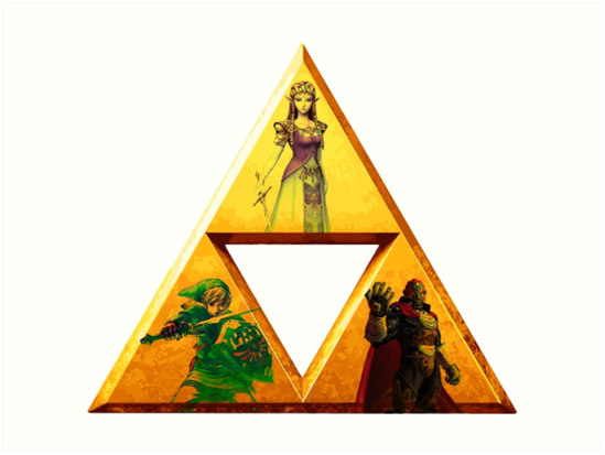 Quot Triforce The Legend Of Zelda Quot Art Prints By