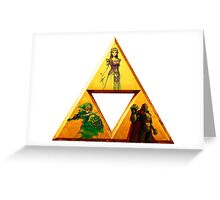 Triforce - The Legend Of Zelda Greeting Card