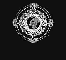 Earth Mandala (white) Unisex T-Shirt