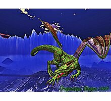 Dragonesque Fierocity Photographic Print