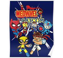 Meowvel vs Catcom Poster