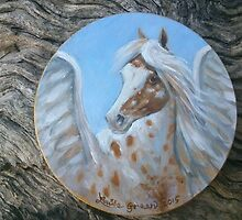 Appaloosa Pegasus by louisegreen