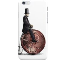 Penny Farthing option  iPhone Case/Skin