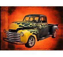 1953 Chevrolet 3100 5 Window P/U Pro Street  Photographic Print